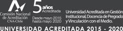 Universidad Acreditada 2015-2020 CNA